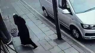 Burglary footage