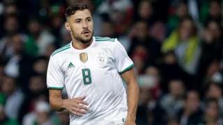 Algeria's Youcef Belaili