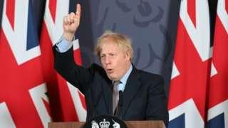UK Prime Minister Boris Johnson. Photo: 24 December 2020