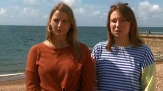 Emma Wilson and Chloe Payne founded the Anti-Harassment Club in Brighton