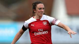 Arsenal's Lisa Evans
