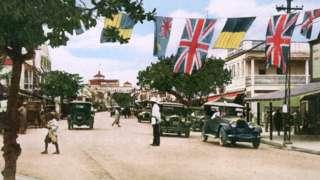 Bahamas en los años 30 del siglo pasado