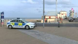 Redcar sea front