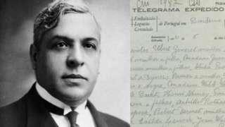 Aristides de Sousa Mendes and a telegram from Portuguese dictator Salazar