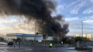 Smoke over Bradford