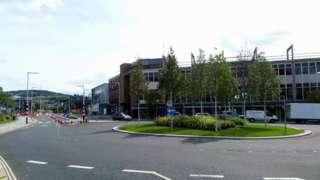 Swansea city centre roads 2020