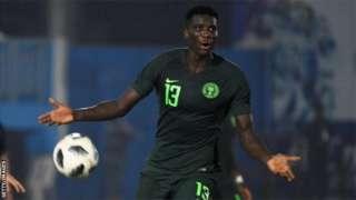 Nigeria Paul Onuachu play for Danish club FC Midtjylland