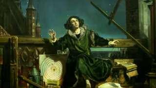 Astrónomo Copérnico: Conversación con Dios, de Jan Matejko 1873