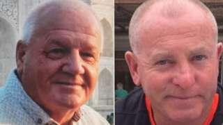 Gareth Delbridge a Michael Lewis
