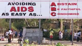 HIV/AIDS prevention banner