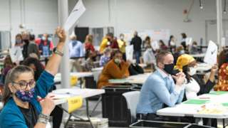Recount of votes in Georgia after November elections