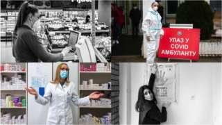 žene heroine u pandemiji