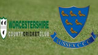 Worcestershire v Sussex