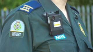 Bodycam worn by Gary and his team