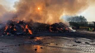 Fire at Waterbeach