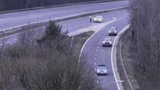 M4 at junction 35 (Pencoed)