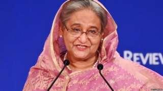 బంగ్లాదేశ్ ప్రధాని షేక్ హసీనా