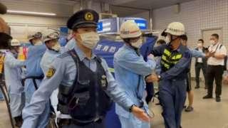 Нападение в метро Токио