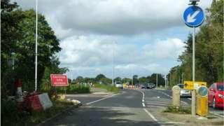 A327 near Observer Way, Arborfield