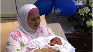 Dallal said her son, born from smuggled sperm, was a 'gift from God'