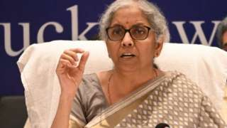 இந்திய நிதியமைச்சர் நிர்மலா சீதாராமன்