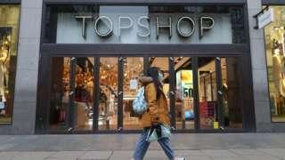 Topshop on Oxford Street
