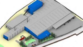 Proposed plasterboard factory