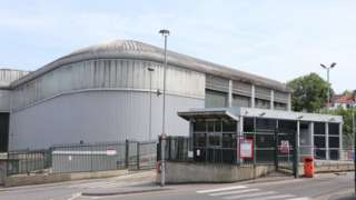 Veolia Materials Recovery Facility in Hollingdean Lane, Brighton