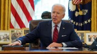 Joe Biden madaxwaynaha Mareykanka