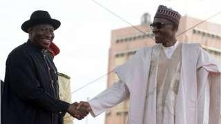 Jonathan ati Buhari