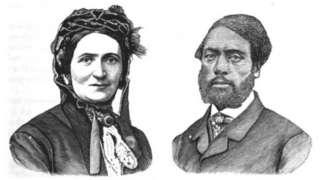 Portraits of Ellen and William Craft