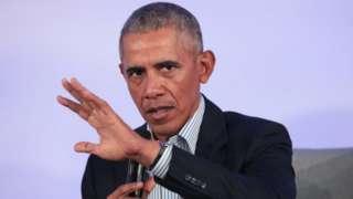 บารัก โอบามา ดำรงตำแหน่งประธานาธิบดีสหรัฐระหว่างปี 2009-2017