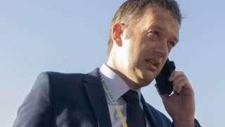 Scottish FA chief executive Ian Maxwell