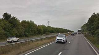 A303 dual carriageway at Andover