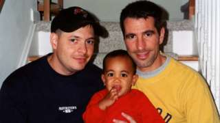 Pete, Kevin and Danny in 2001