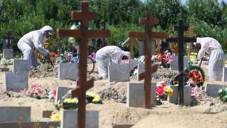Похороны умерших от ковида