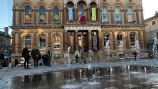 Fountains at Ipswich Cornhill