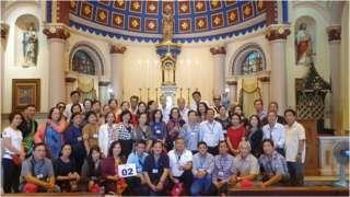 Đoàn giáo dân từ Việt Nam vừa bay sang Thái Lan để chào đón Giáo Hoàng Francis hôm 20/11/2019
