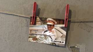 razglednica Tito, Jugotur