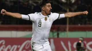 Algeria striker Baghdad Bounedjah