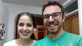 Rebeca Corona and Fernando Garcia