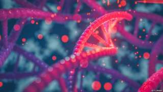 conceptual artwork of DNA