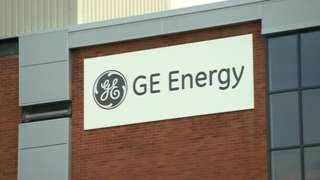GE Energy sign