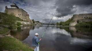 The River Narva (file image)
