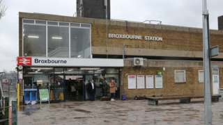 Broxbourne station
