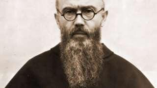 Retrato de Maximiliano Kolbe