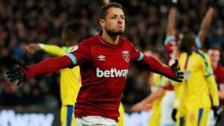 West Ham's Javier Hernandez