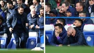 Frank Lampard ati Jose Mourinho