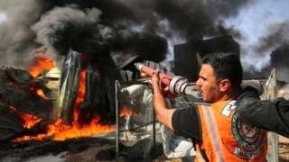 Палестинский пожарный