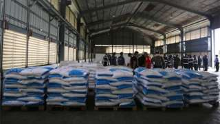 A handout photo made available by the Office of Narcotics Control Board (ONCB) shows the Thai police officers and relevant authorities inspect after seized Ketamine inside a warehouse at Bang Pakong District in Chachoengsao province, Thailand, 12 November 2020.